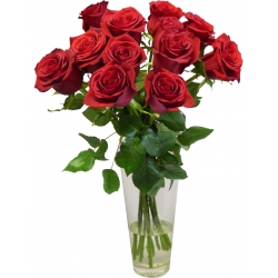 "BOUQUET DE ROSES ROUGES ""LOVE"""